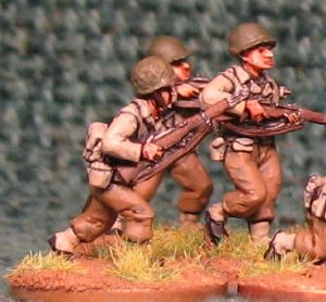 20mm, WW2 American Infantry AB 12 figures